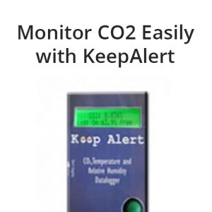 KALOGDISP - KeepAlert CO2 Logger With Display