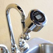 SANITIMER - Fitted On A Tap