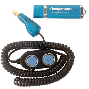 Thermochron Reader with eTemperate on USB