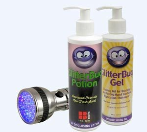 GlitterBug Hand washing training