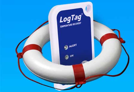 logtag in a life preserver