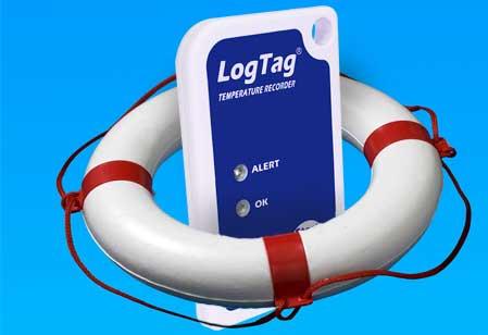 logtag in a life preserver