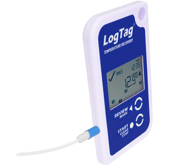LogTag with display and probe