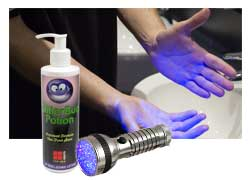 Glitterbug handwashing training